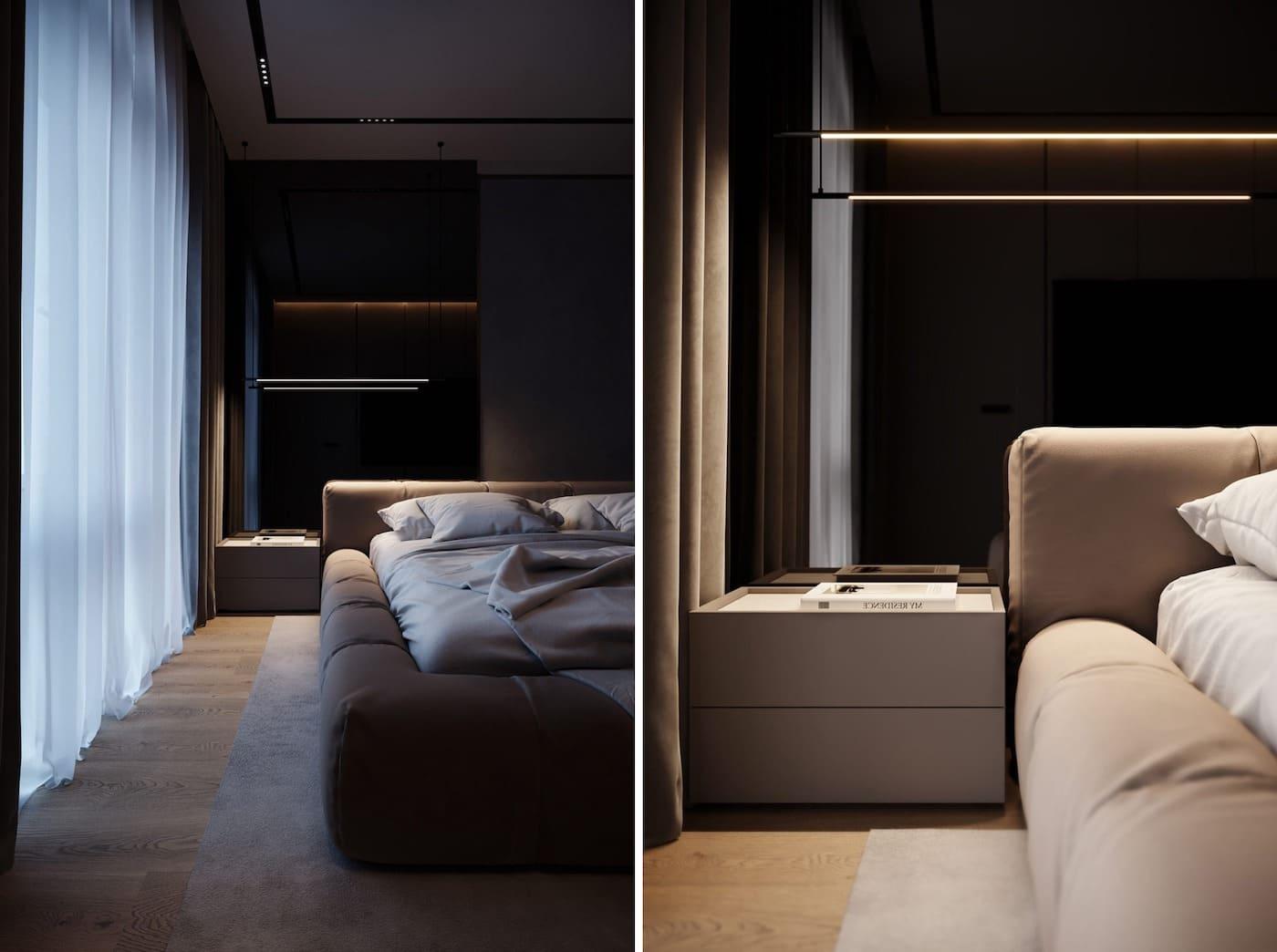 дизайн интерьера модной квартиры фото 7