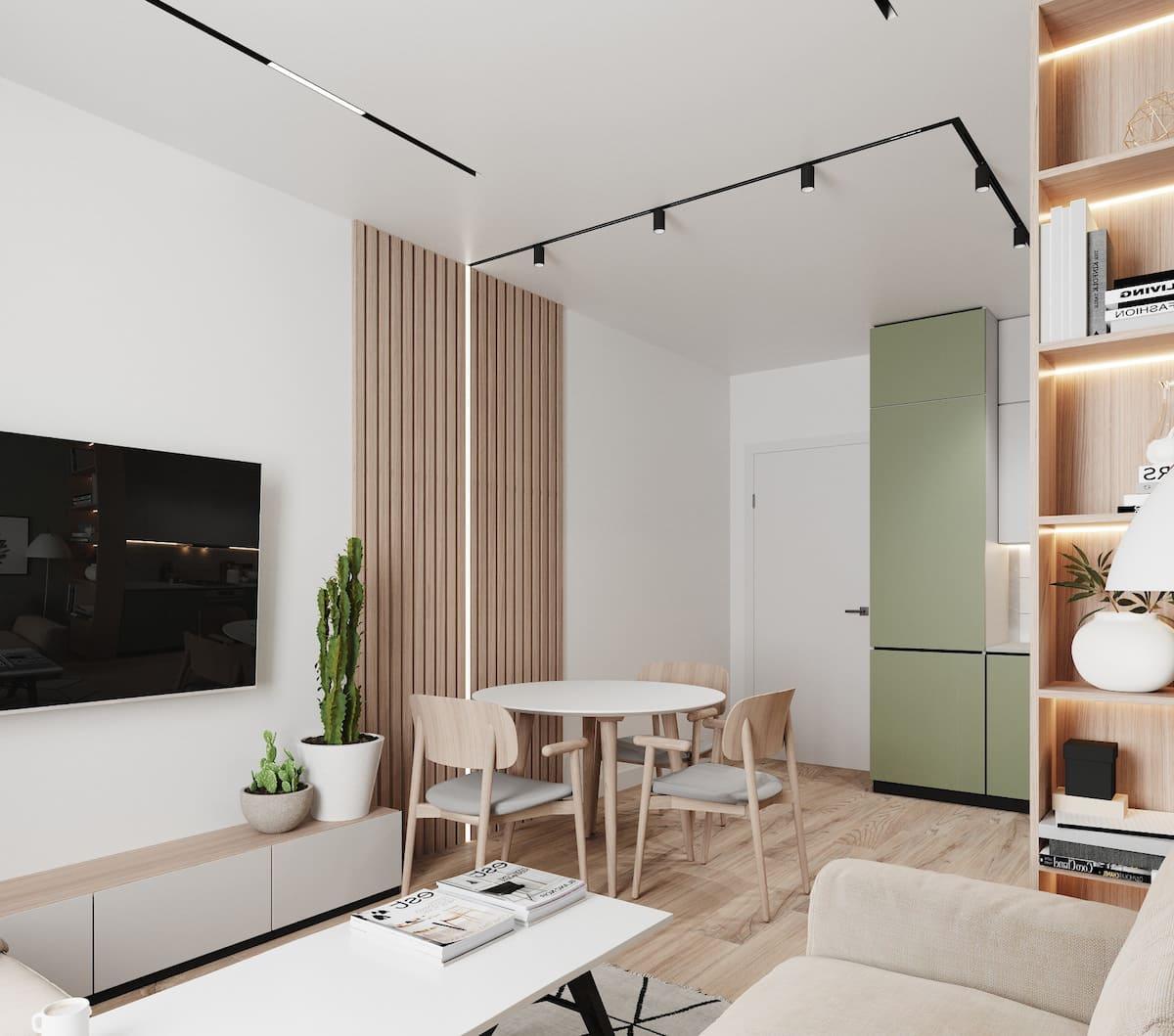 дизайн интерьера модной квартиры фото 87