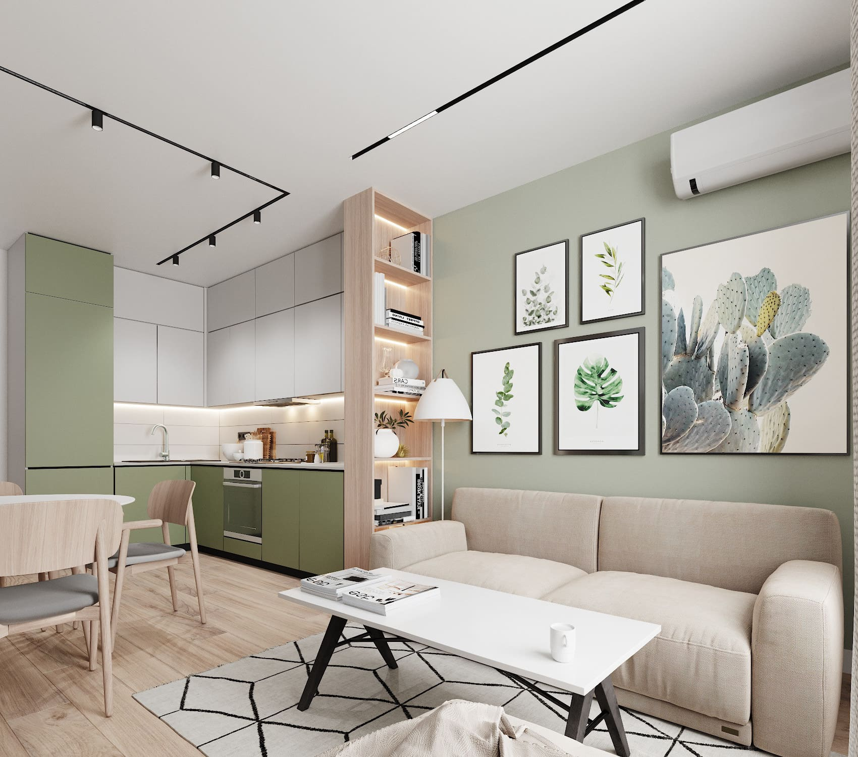 дизайн интерьера модной квартиры фото 88