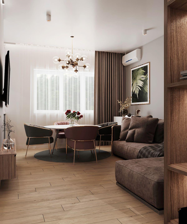 дизайн интерьера модной квартиры фото 98