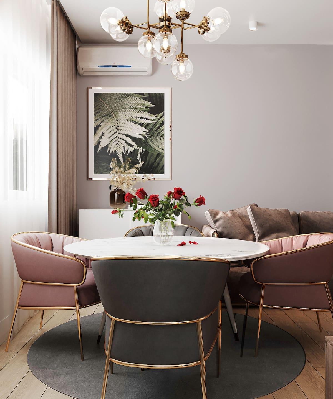 дизайн интерьера модной квартиры фото 99