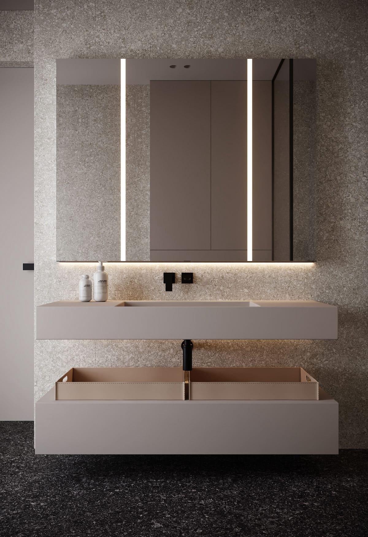 дизайн интерьера модной квартиры фото 9