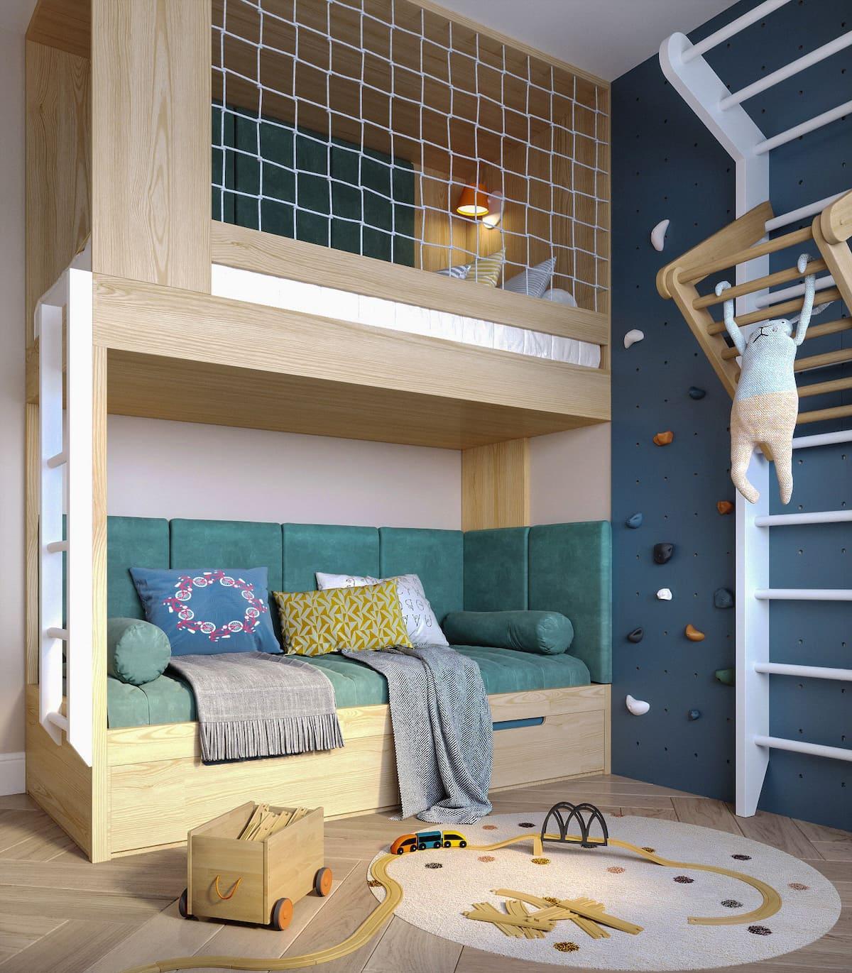 Aménagement d'une chambre d'enfant photo 1