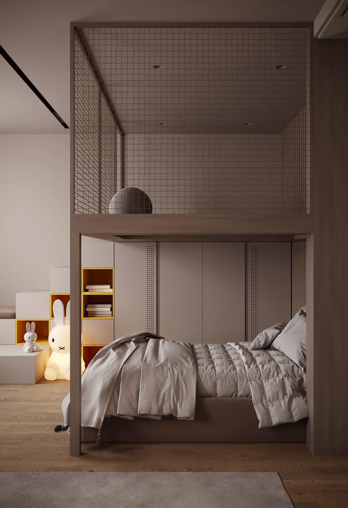 Design de la chambre d'enfant photo 69