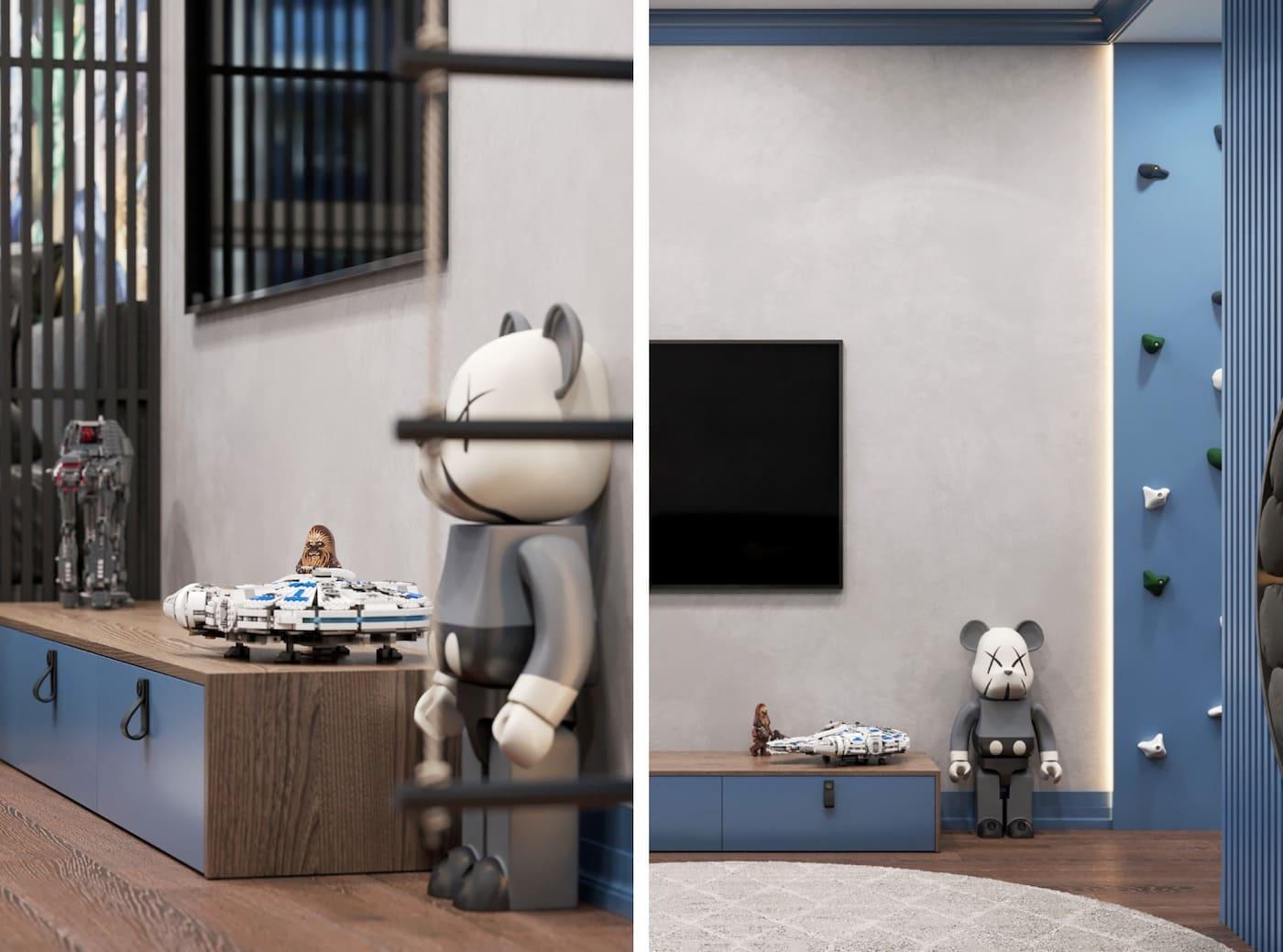 Design de la chambre d'enfant photo 81