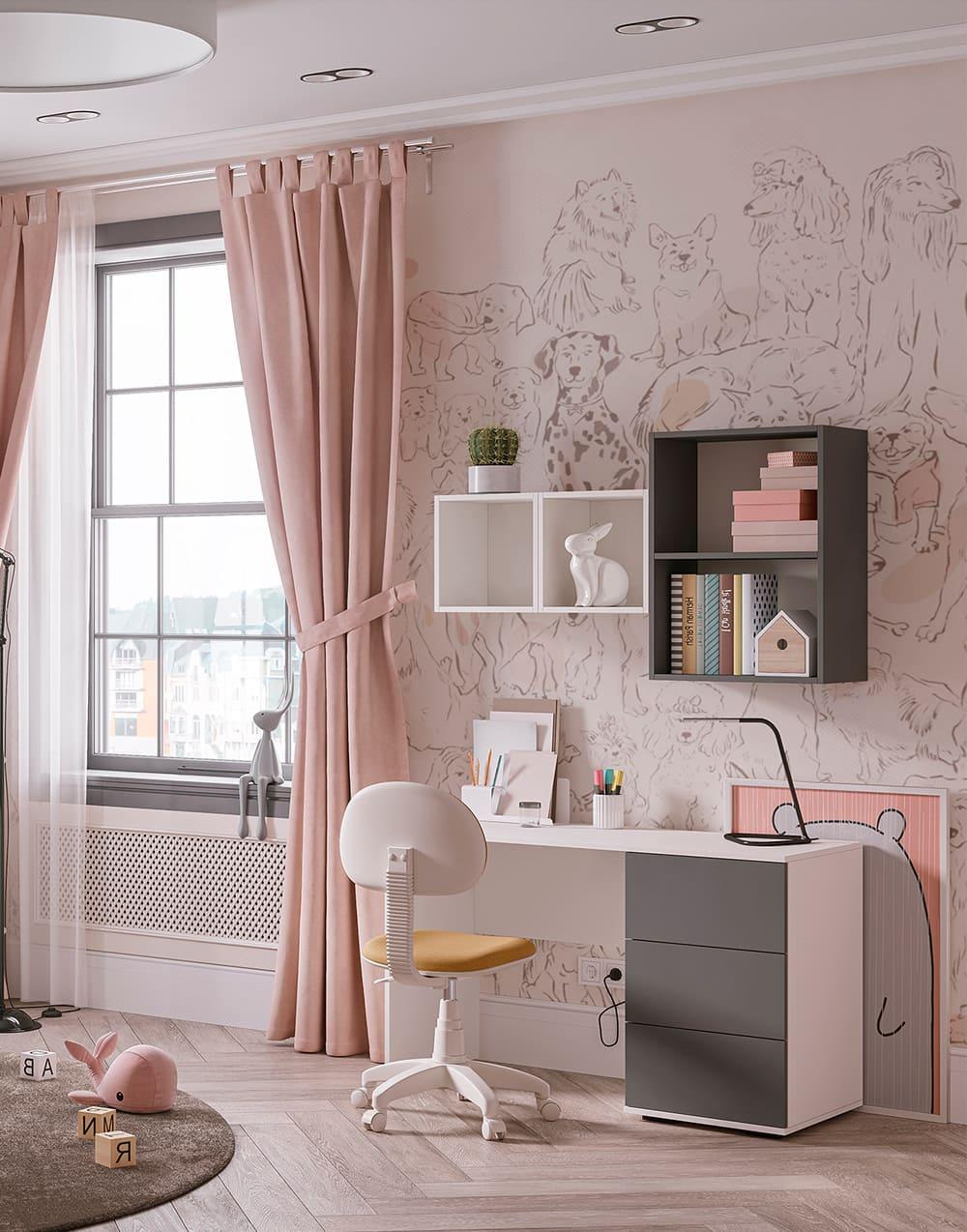 Design de la chambre d'enfant photo 14