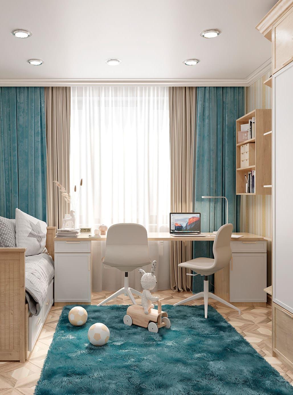 aménagement de la chambre de bébé photo 36