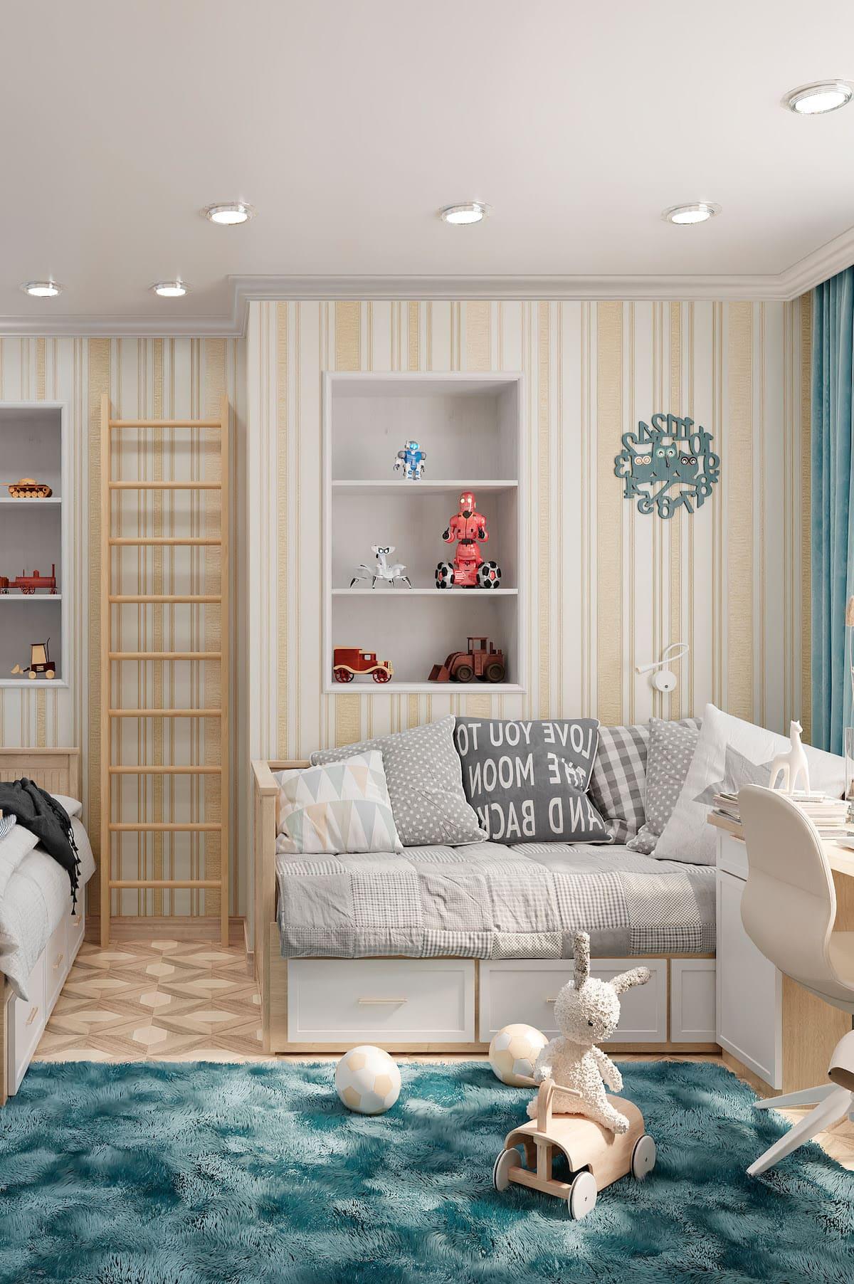 Design de la chambre d'enfant photo 39