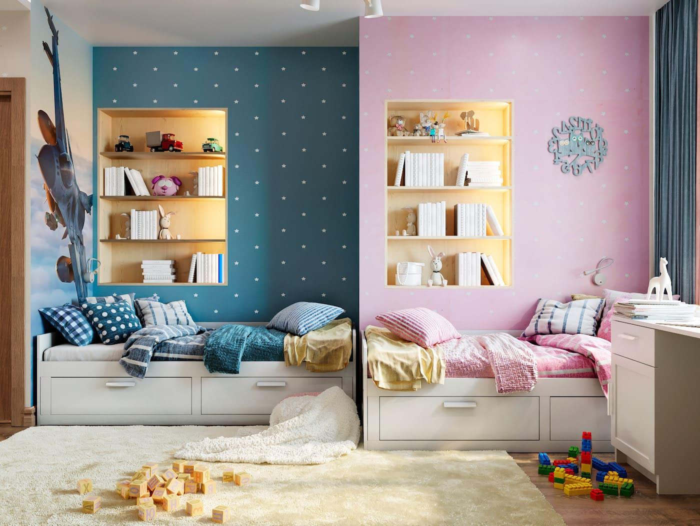 Aménagement d'une chambre d'enfant photo 53