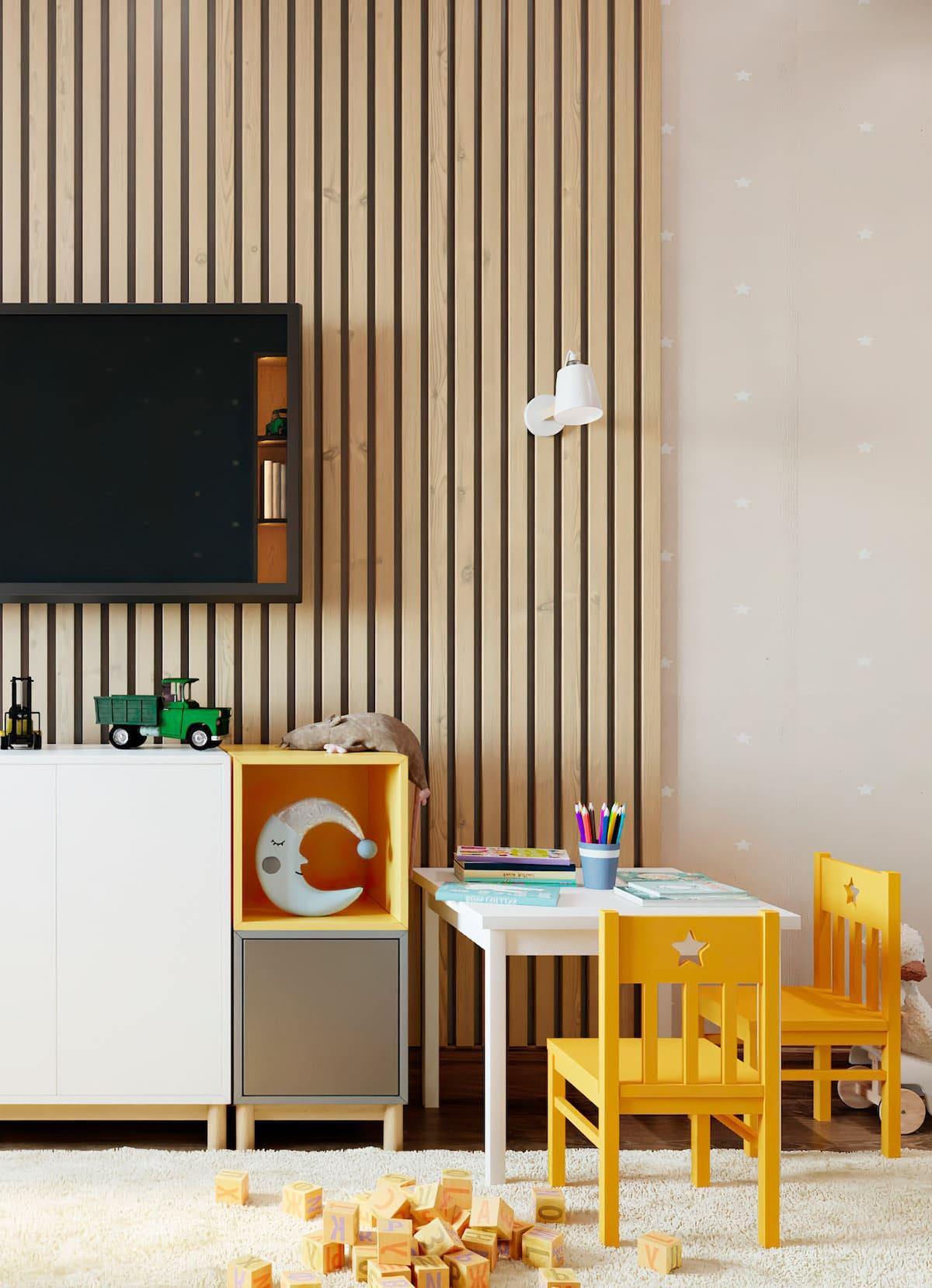 Aménagement d'une chambre d'enfant photo 56