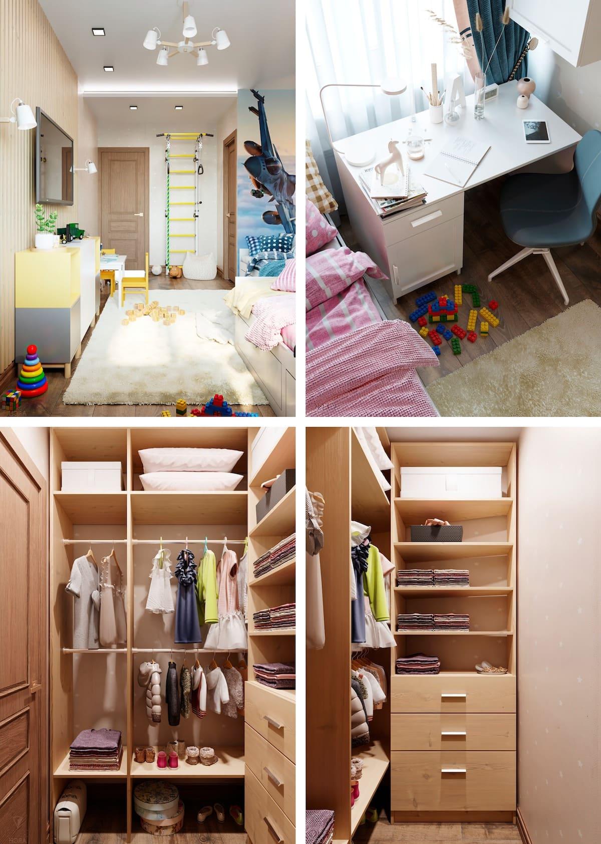 Aménagement d'une chambre d'enfant photo 57