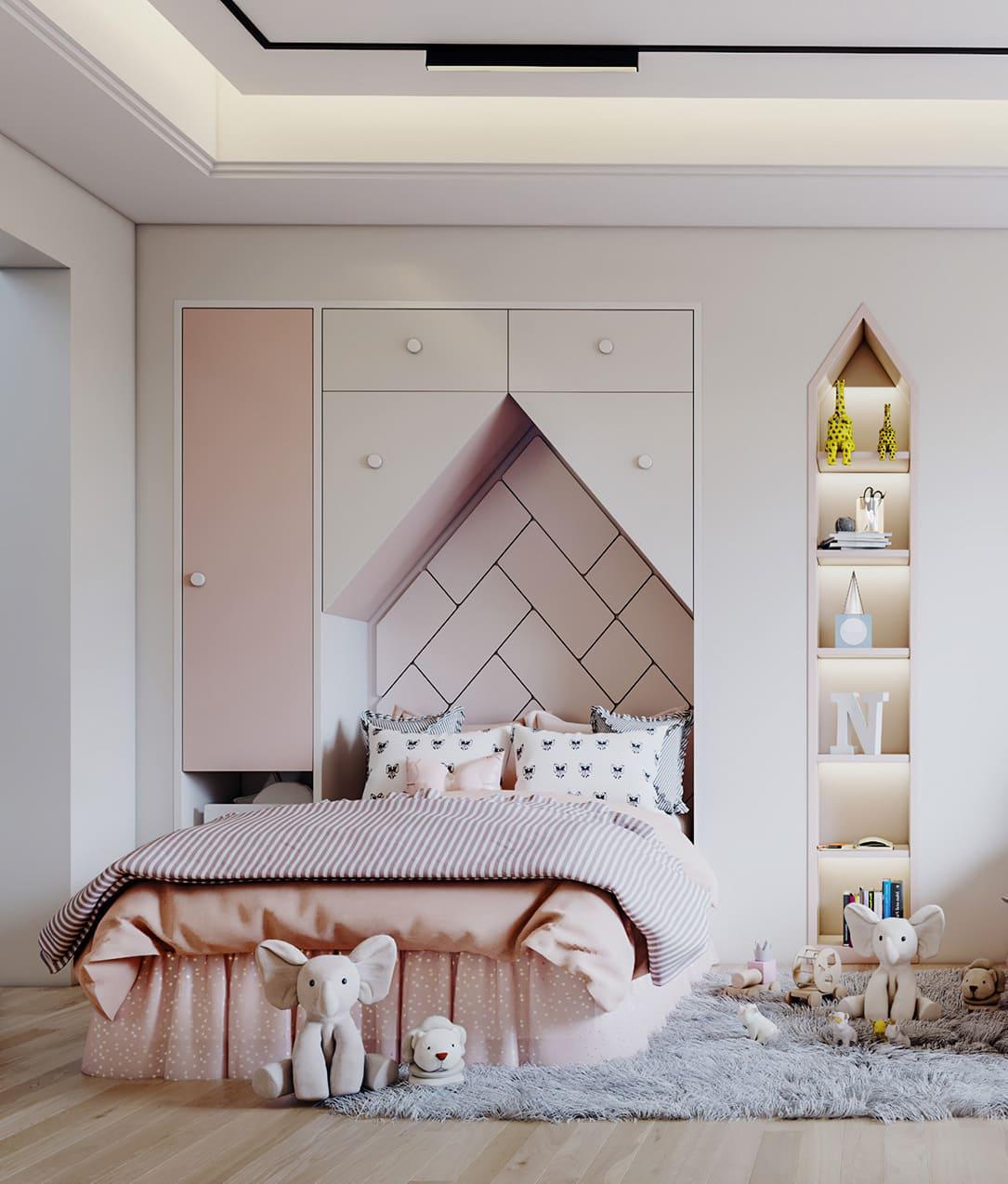 Aménagement d'une chambre d'enfant photo 4
