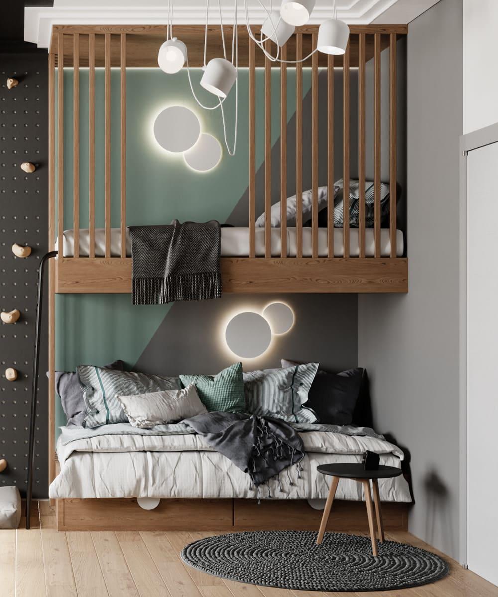 Design de la chambre d'enfant photo 64