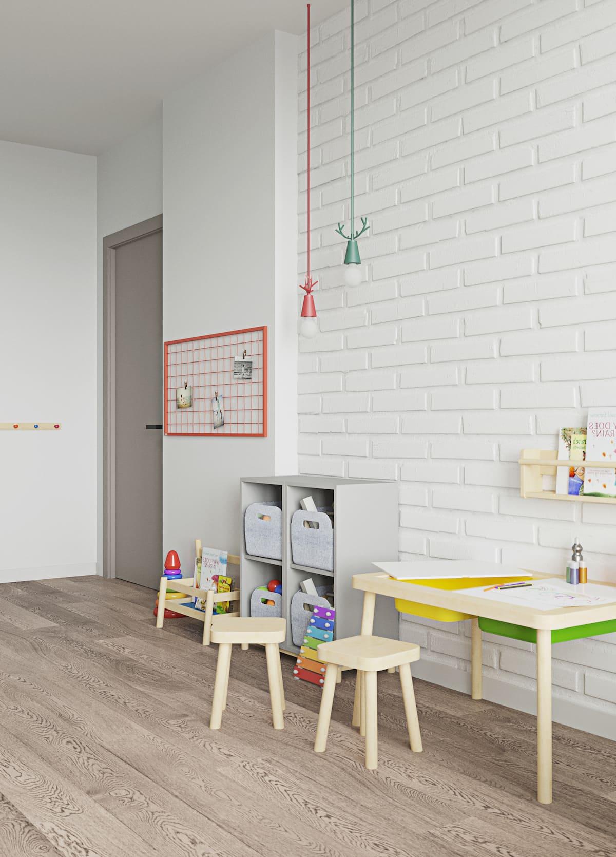 Design de la chambre d'enfant photo 83