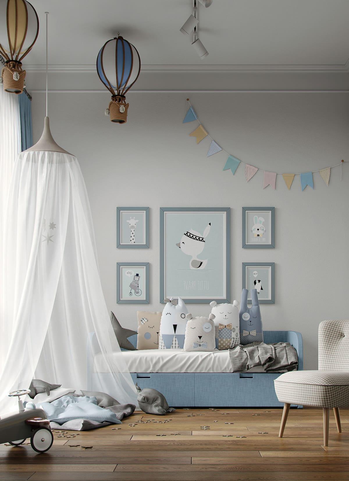 chambre d'enfant design photo 87