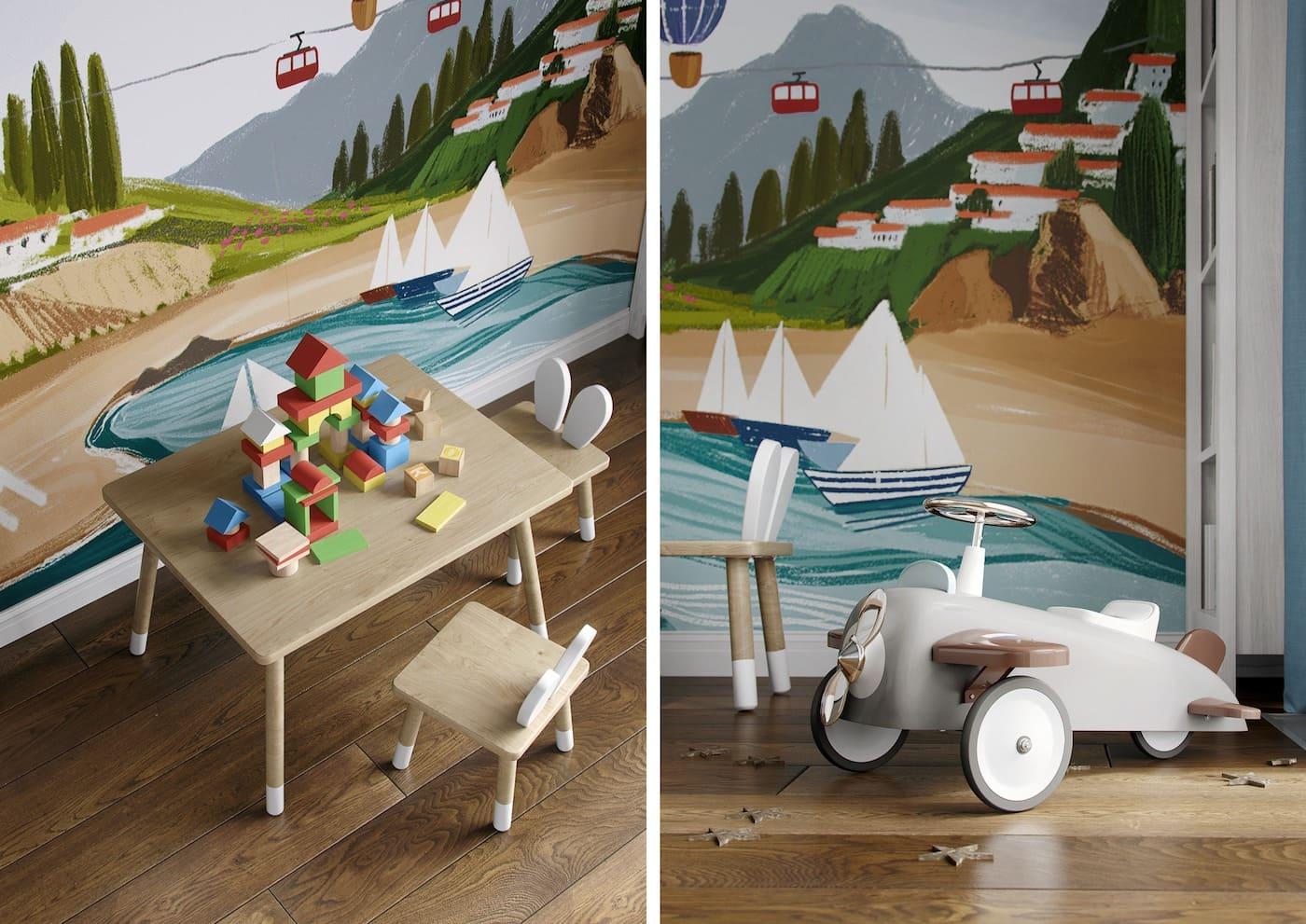 Aménagement d'une chambre d'enfant photo 90