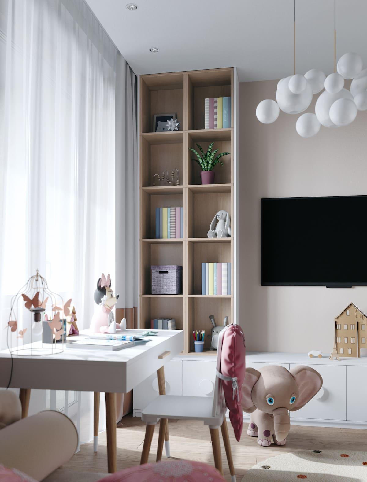 Design de la chambre d'enfant photo 91