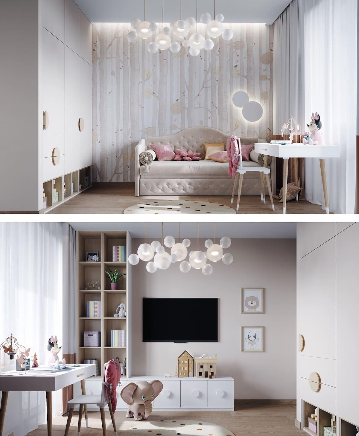 Design de la chambre d'enfant photo 93