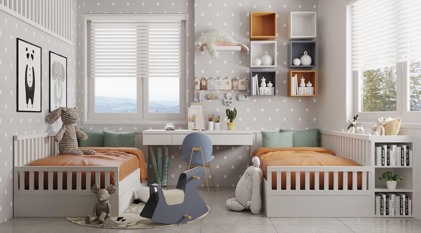 детская комната фото 32