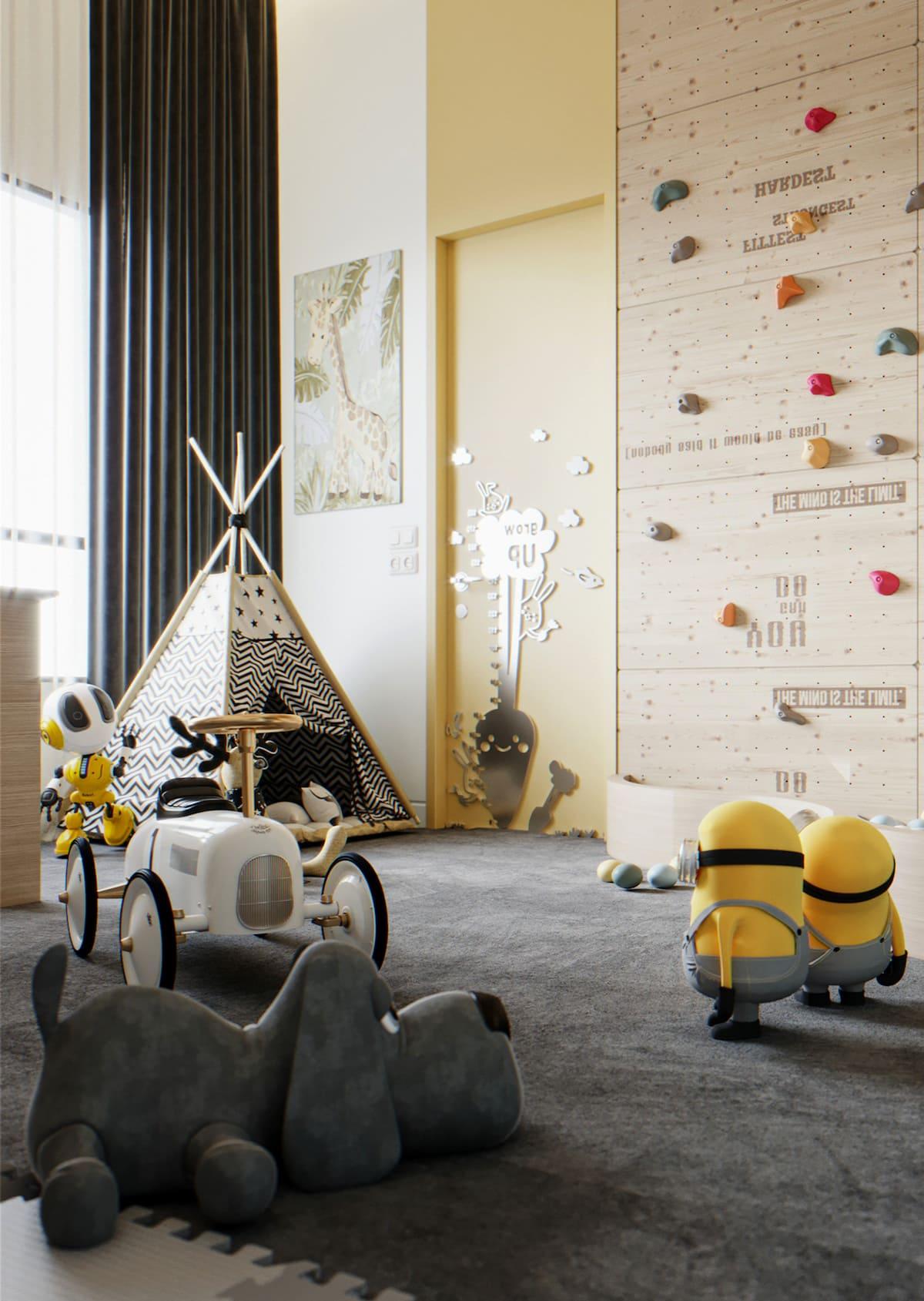 детская комната фото 43