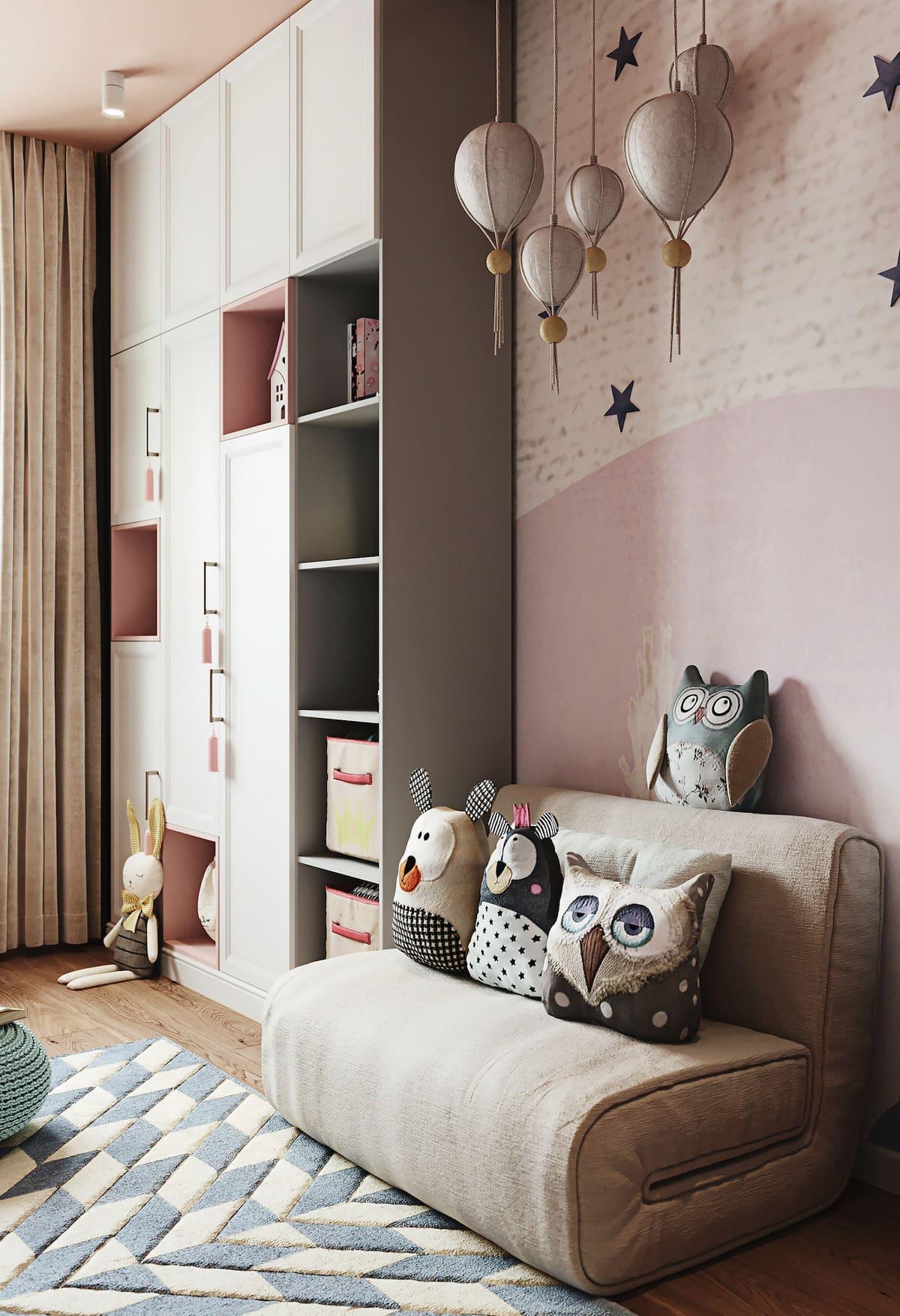 детская комната фото 58