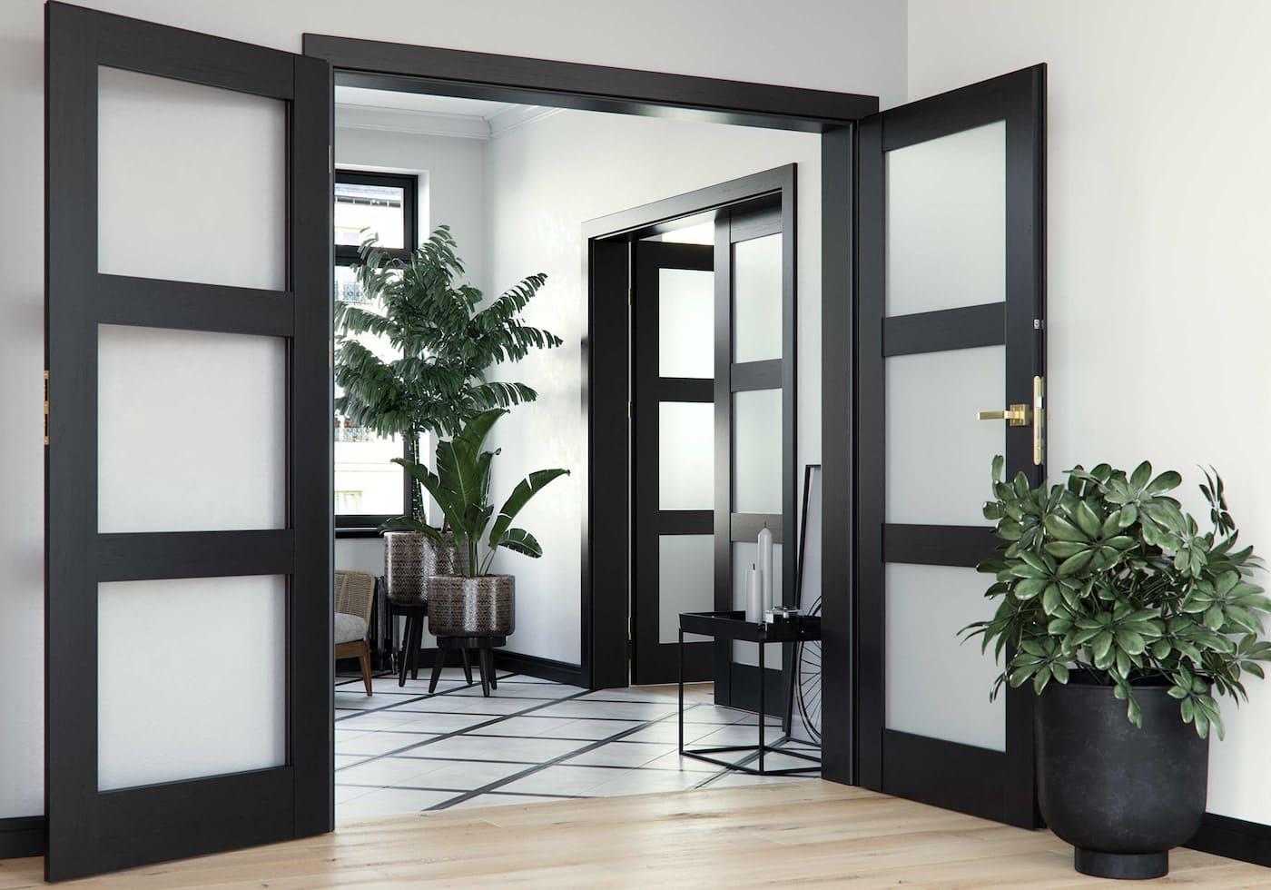межкомнатные двери фото 30