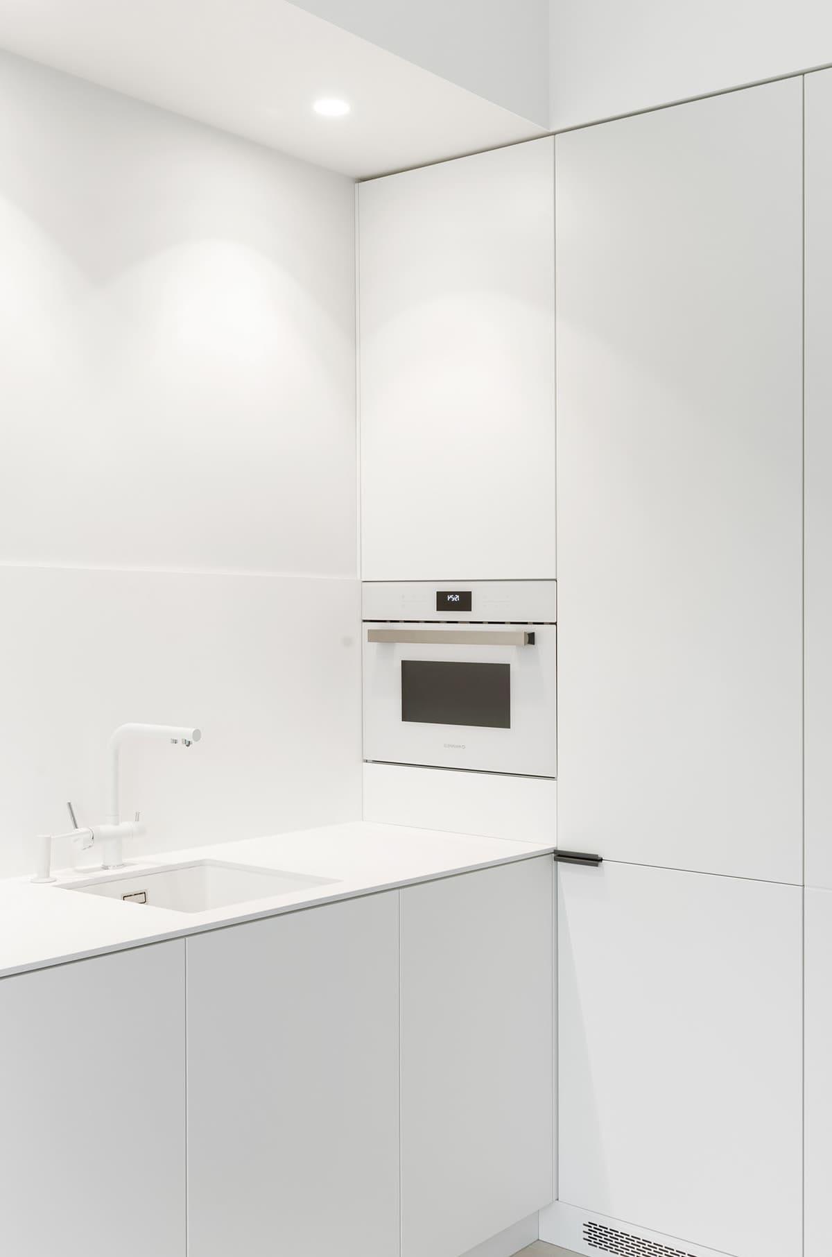 белая кухня фото 78