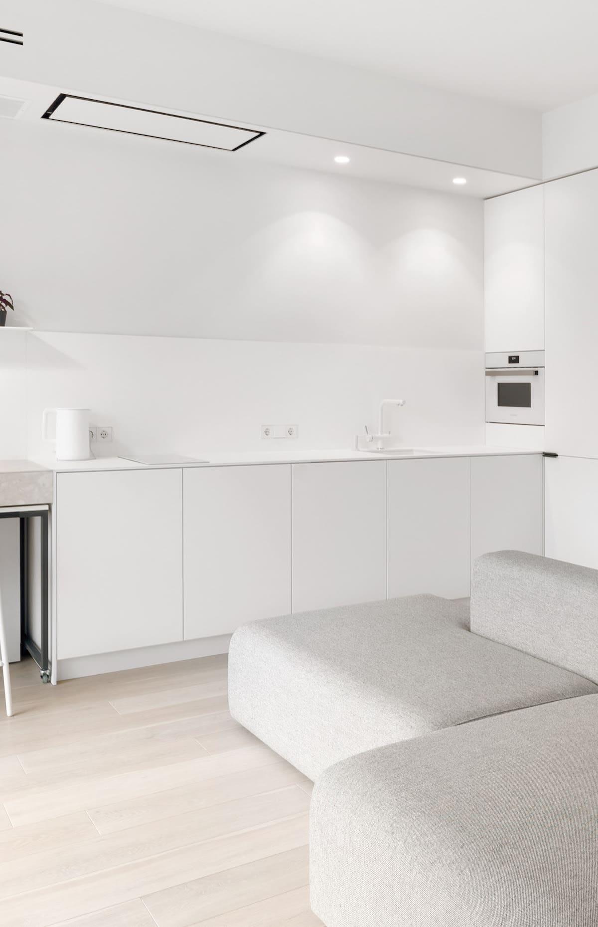 белая кухня фото 79