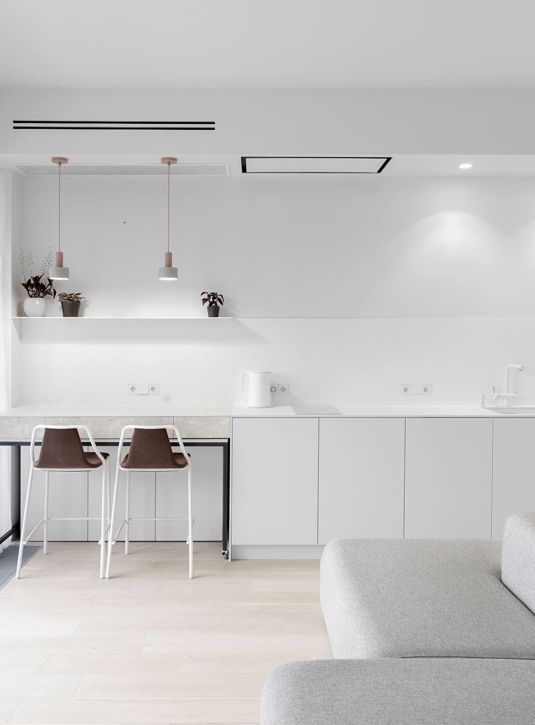 белая кухня фото 80