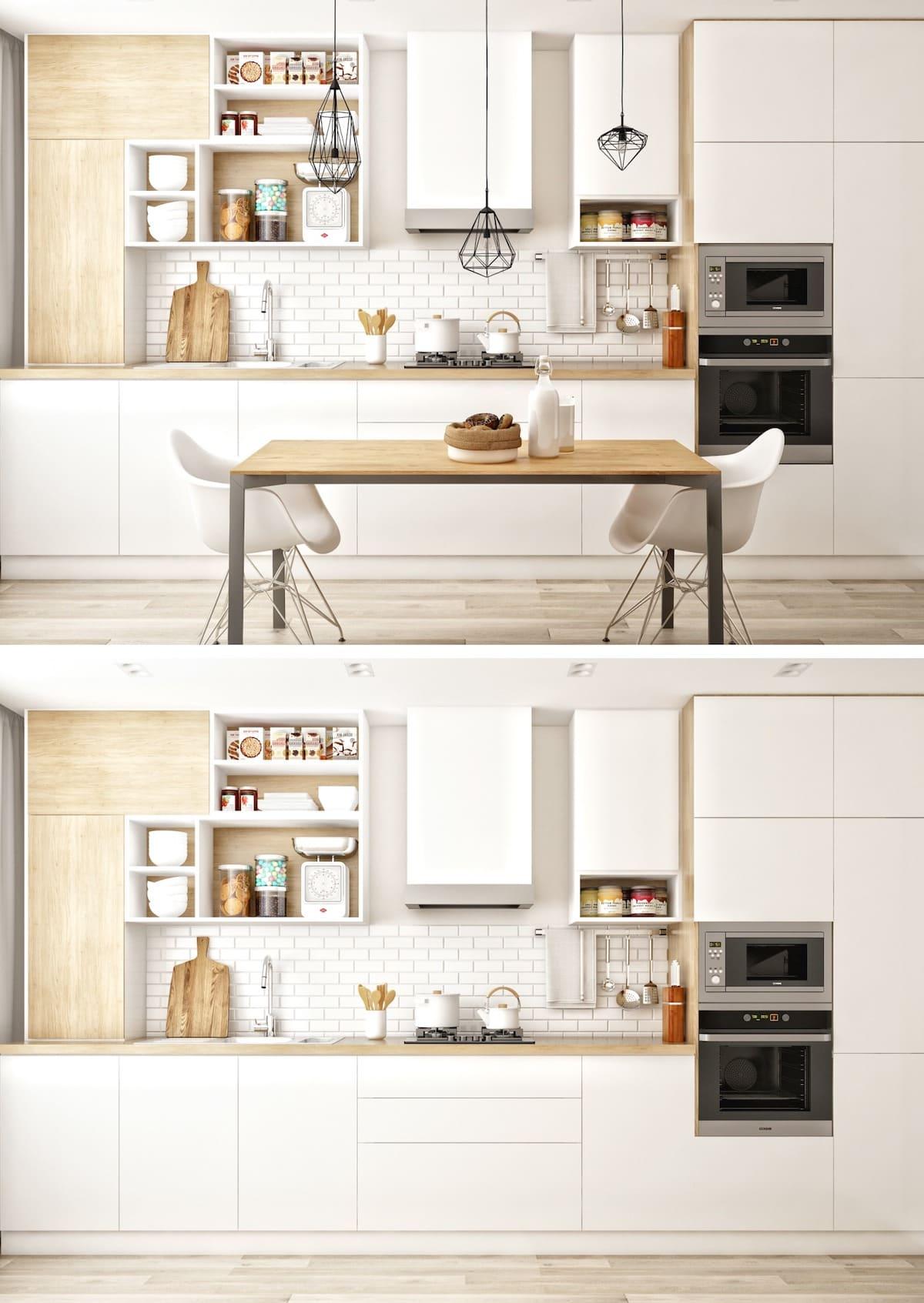 белая кухня фото 5