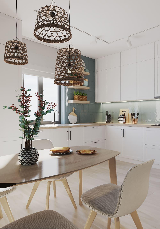 белая кухня фото 51