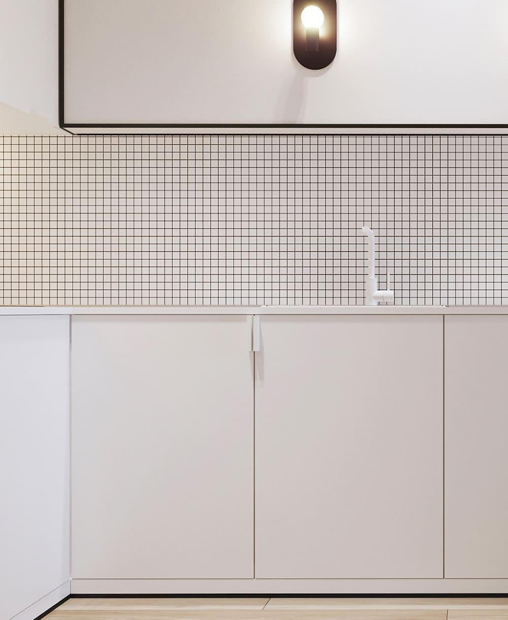 белая кухня фото 47