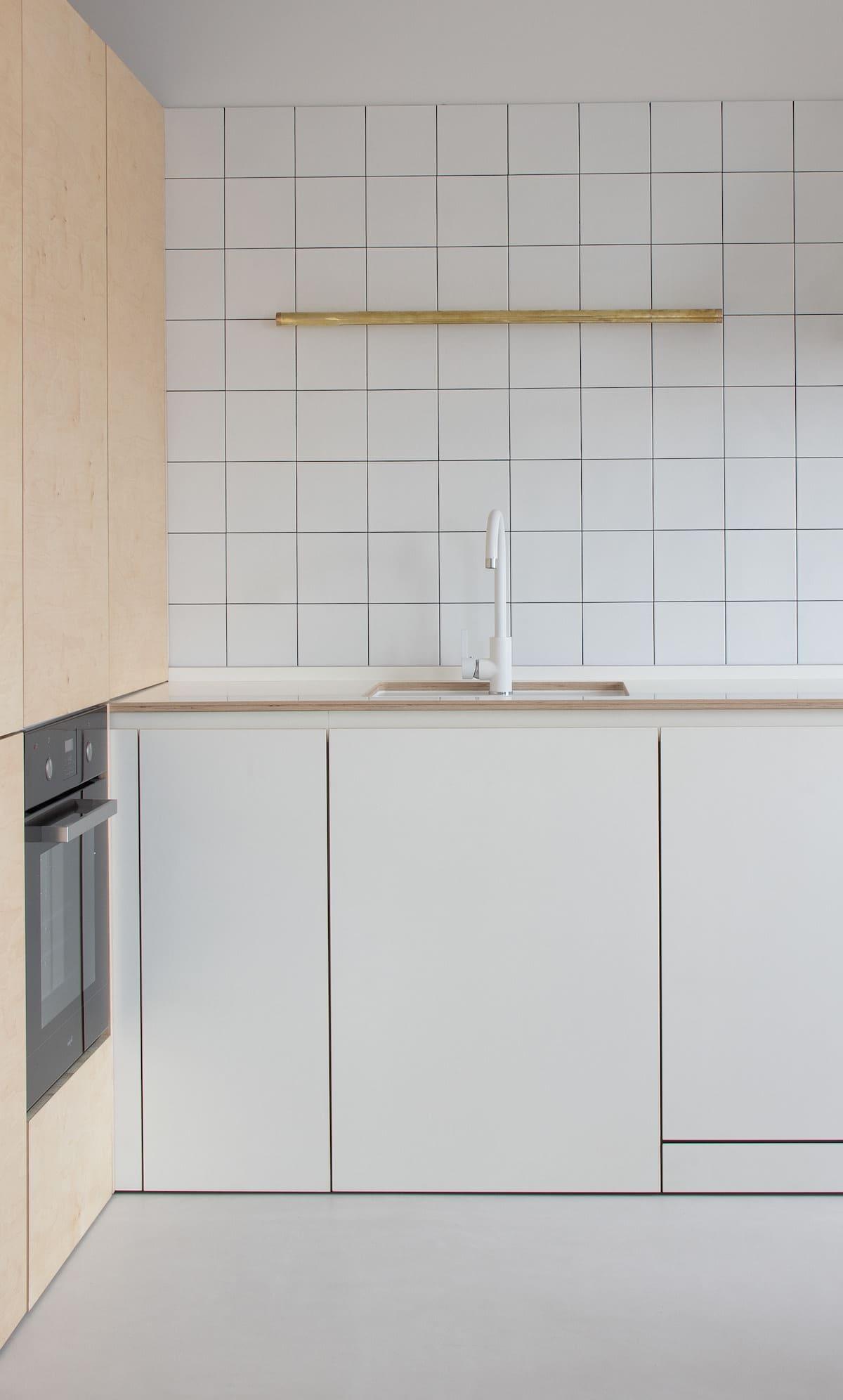 белая кухня фото 75