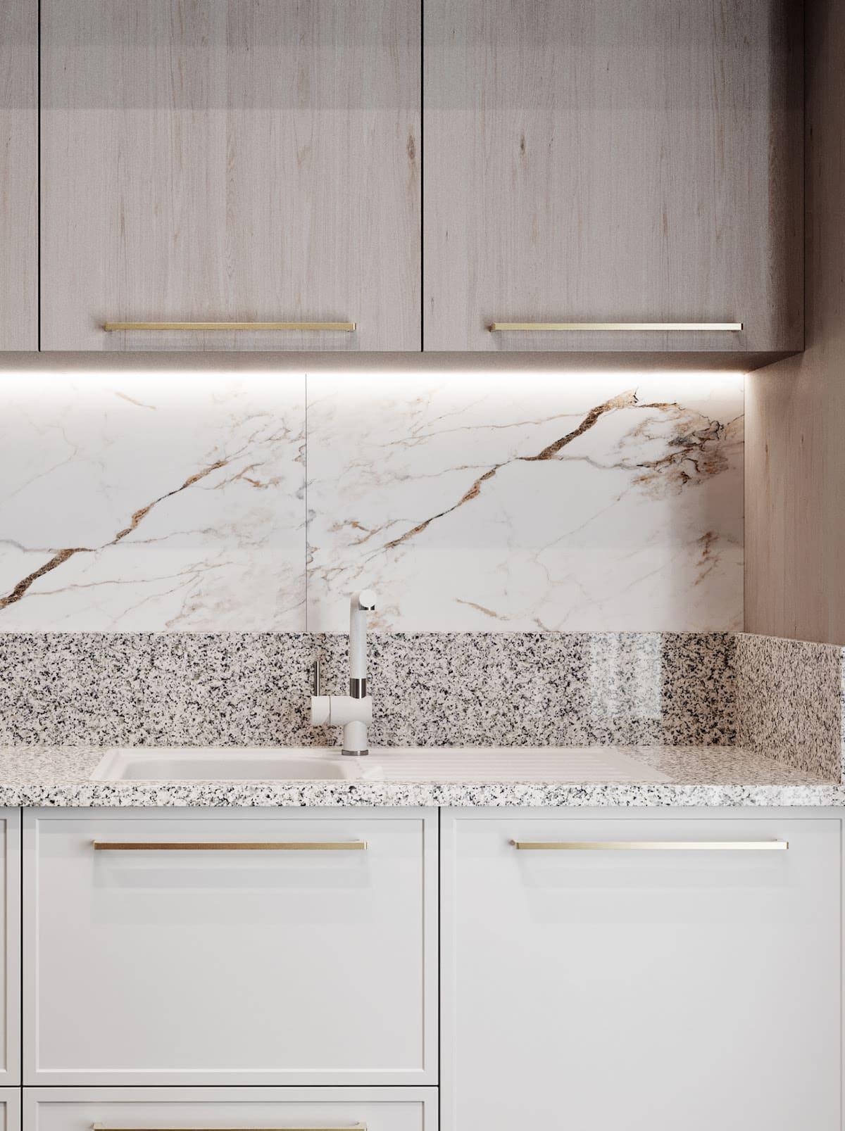 белая кухня фото 14