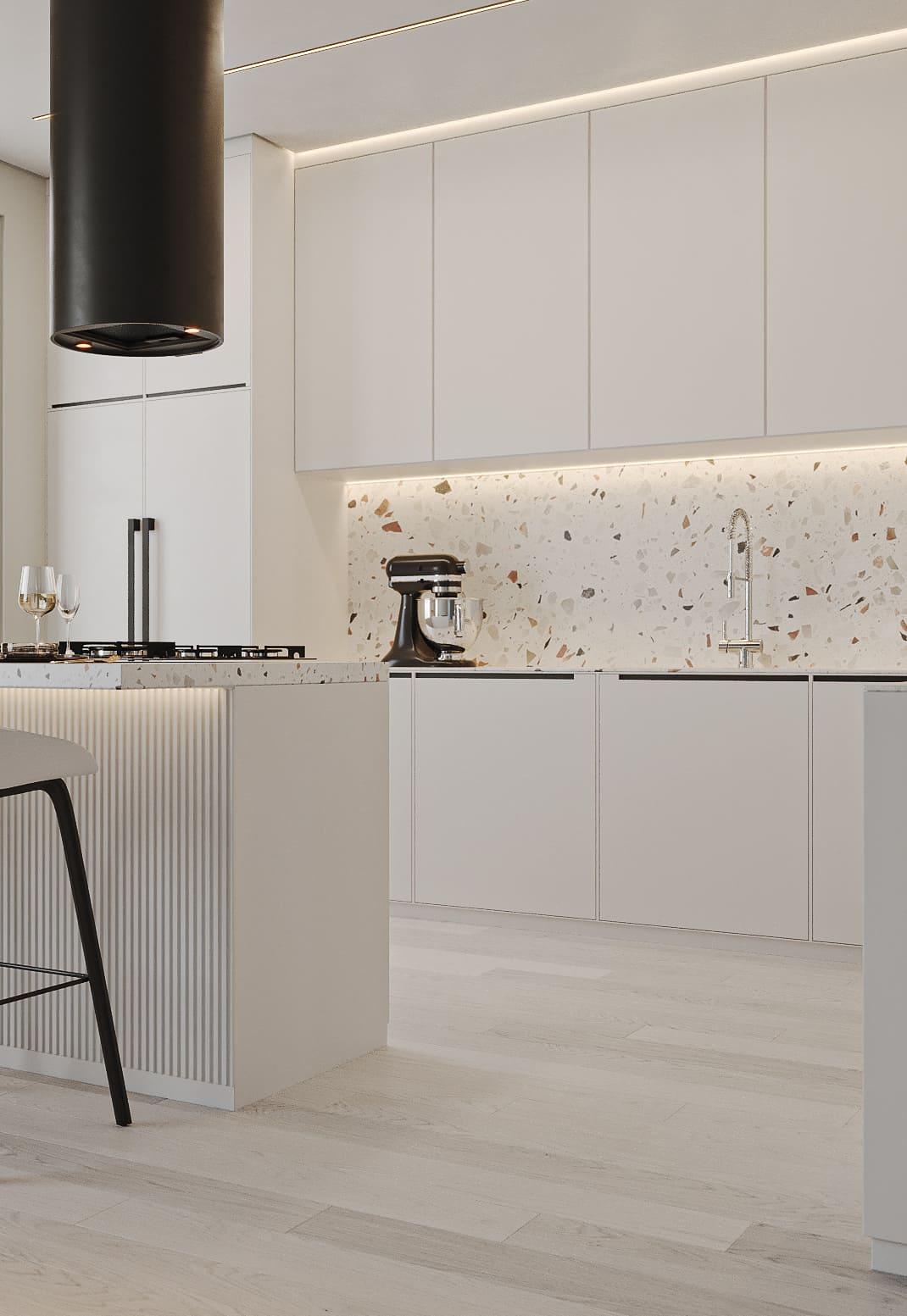 белая кухня фото 42