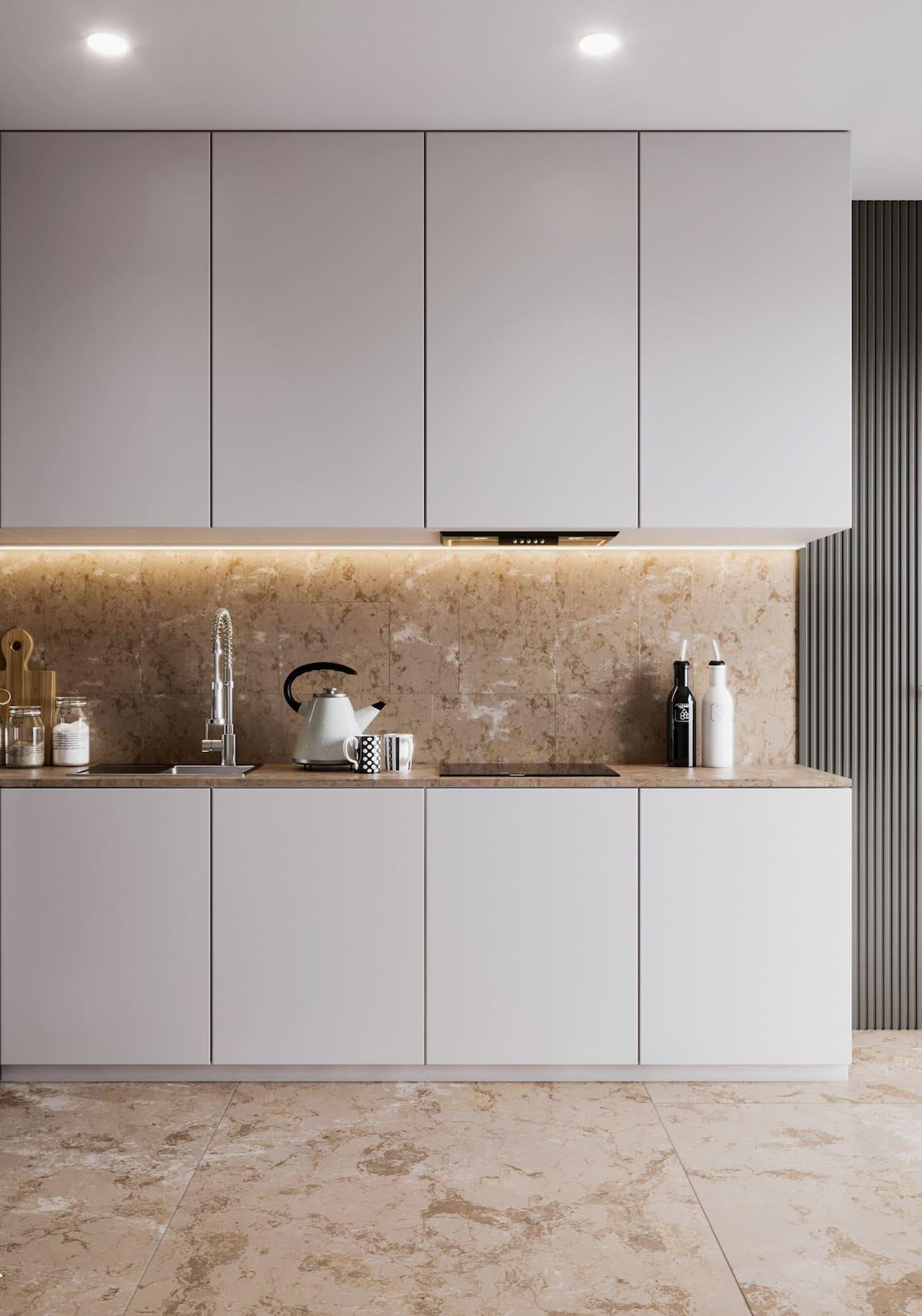 белая кухня фото 68