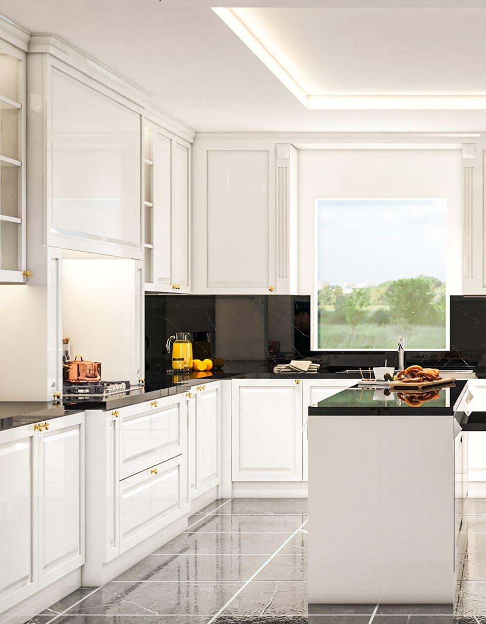 белая кухня фото 82
