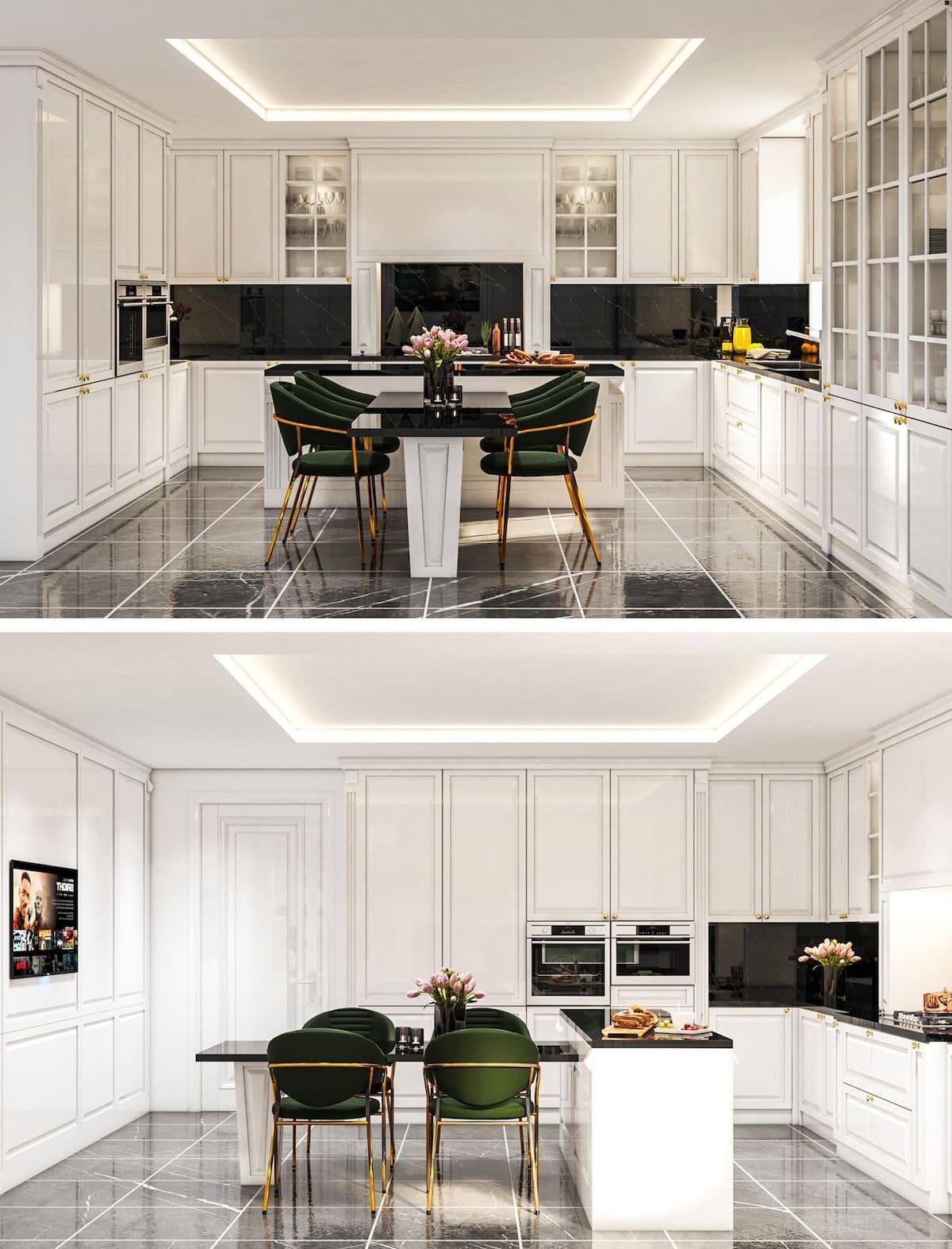 белая кухня фото 83