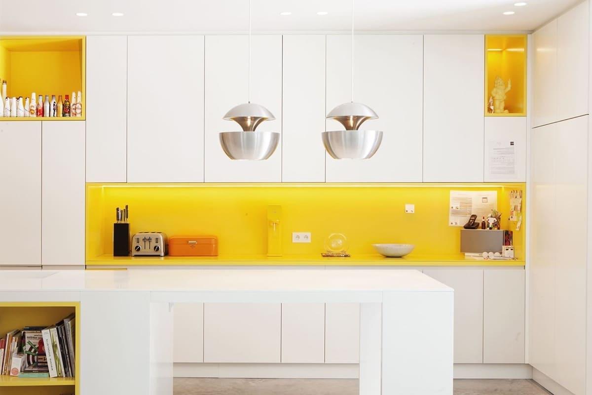 белая кухня фото 56