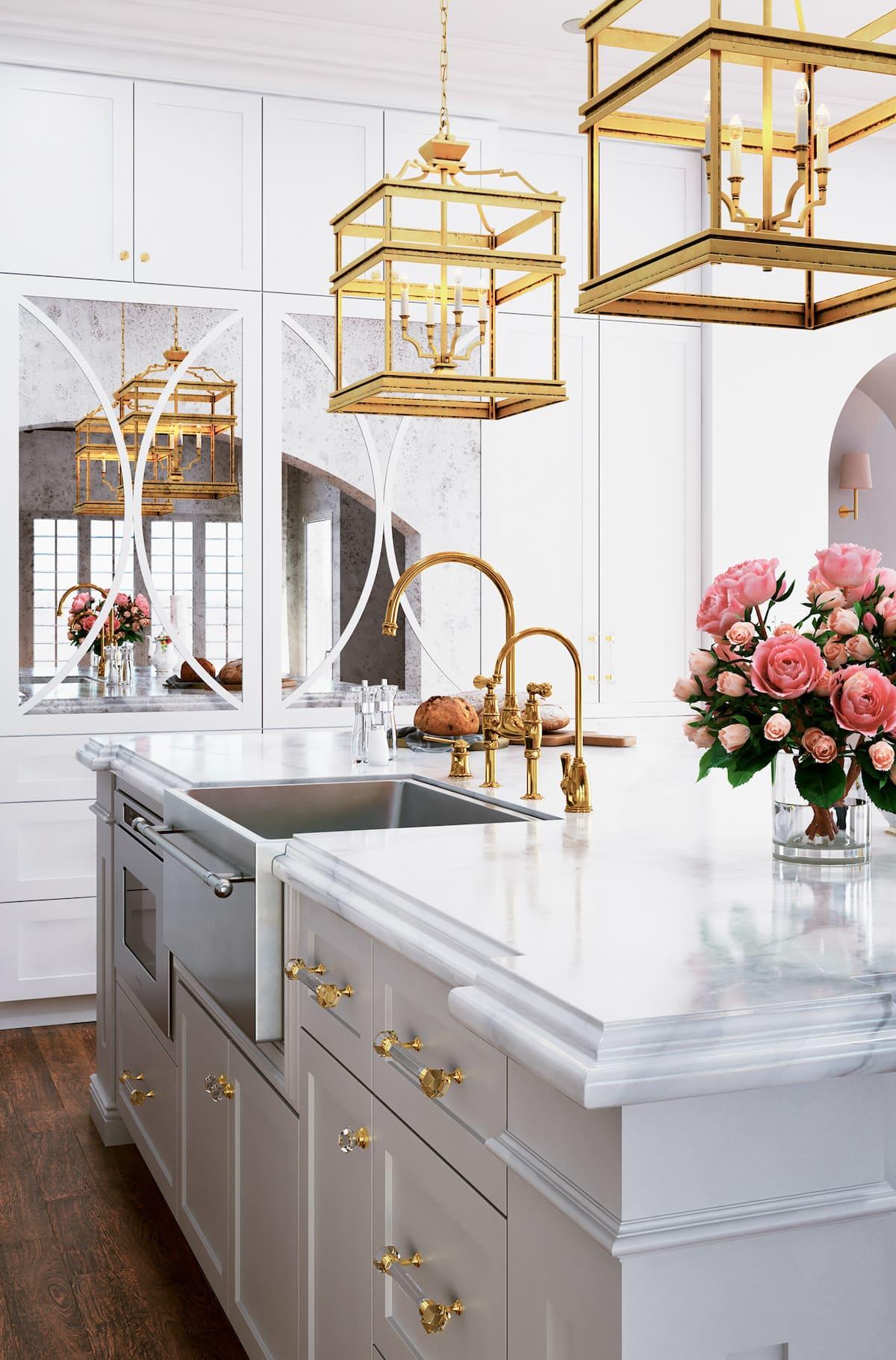белая кухня фото 67