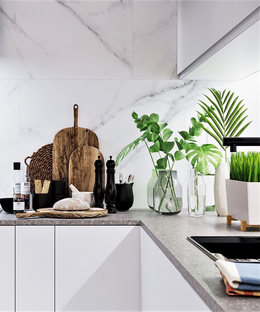 белая кухня фото 25