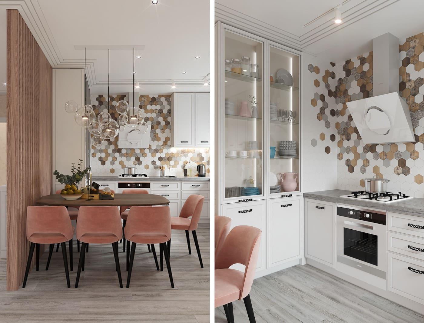 белая кухня фото 34