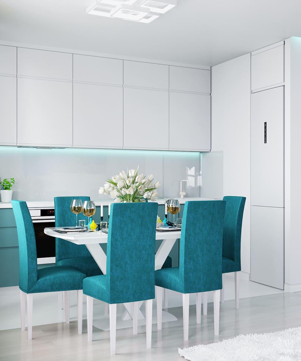 белая кухня фото 57
