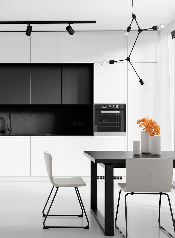 белая кухня фото 21