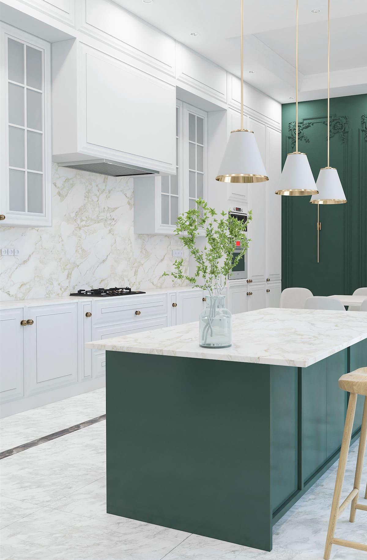 белая кухня фото 73