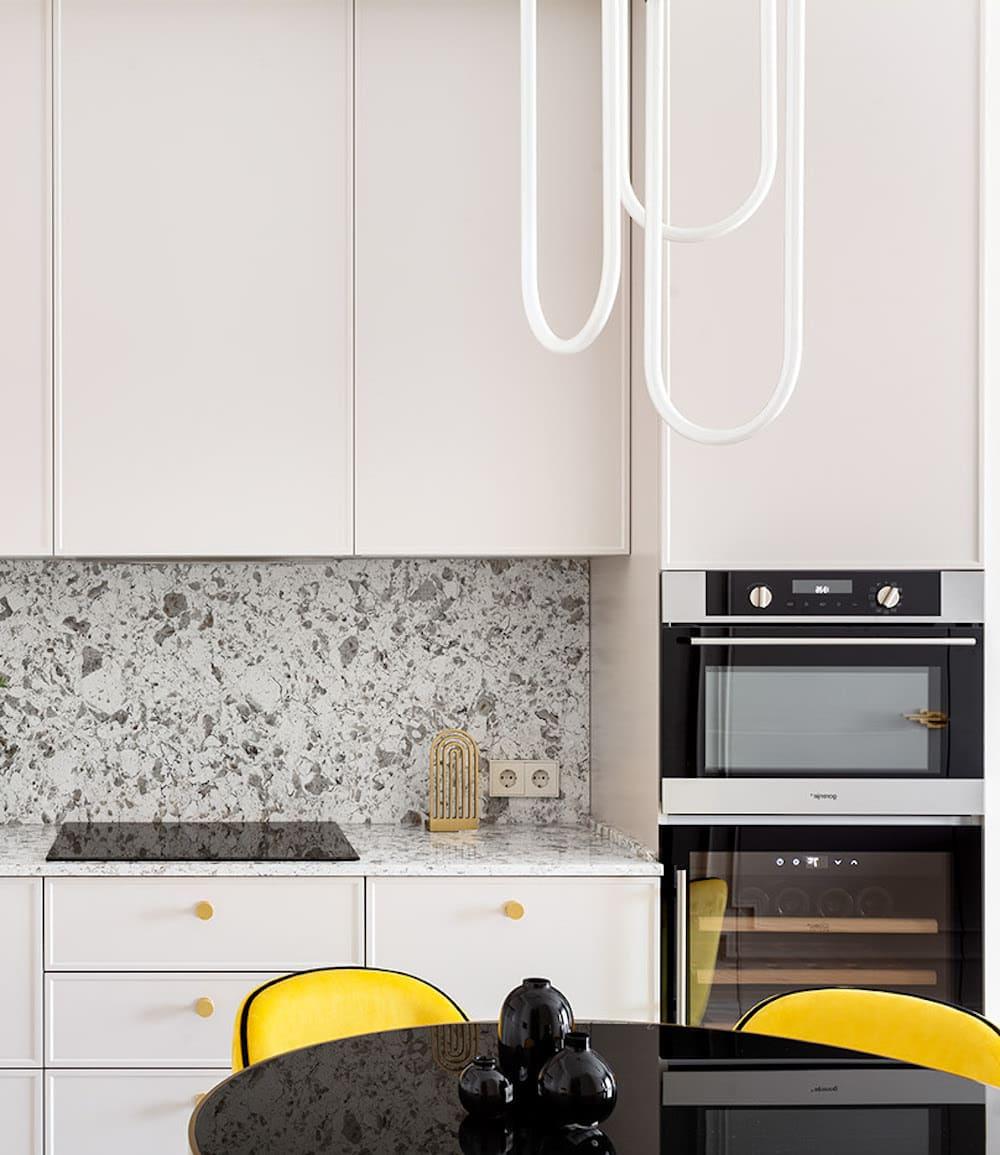 белая кухня фото 54