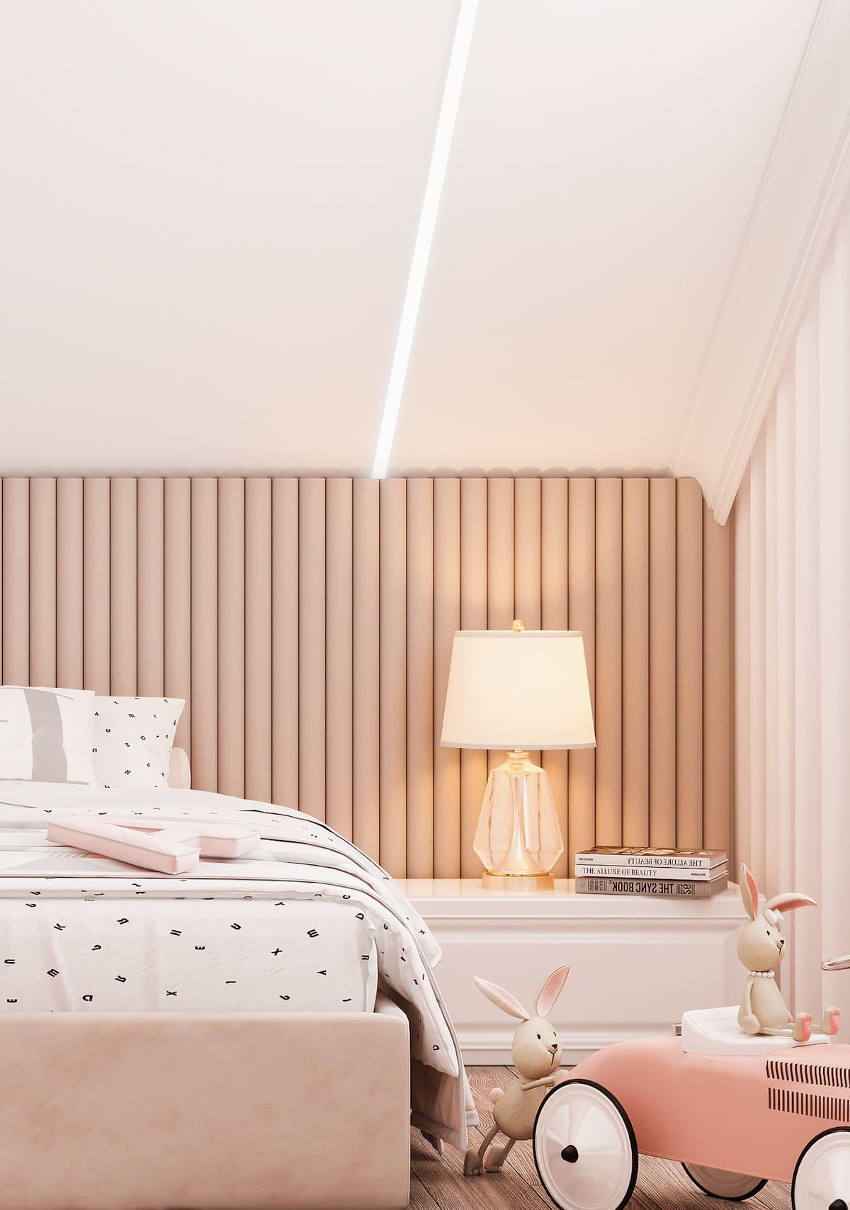 спальня на мансардном этаже фото 30