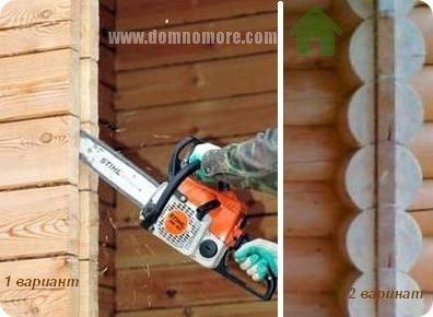 монтаж окон в деревянном доме