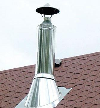 герметизация трубы от крыши