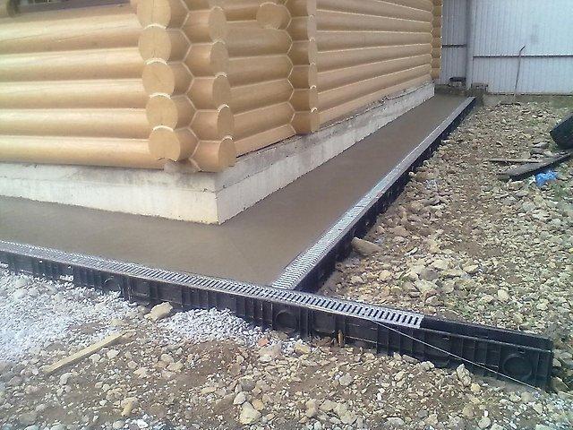 ливневая система канализации